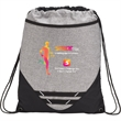 Graphite Hook Drawstring Bag - Graphite Hook Drawstring Bag