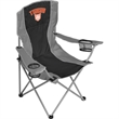 Game Day Two Tone Stripe Chair (300lb Capacity) - Game Day Two Tone Stripe Chair