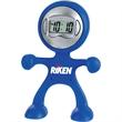 Flex Man Digital Clock - Flex Man Digital Clock