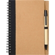 "5"" x 7"" Eco Spiral Notebook with Pen - 5"" x 7"" Eco Spiral Notebook with Pen"