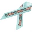 Full Color Awareness Ribbon with Pin - Full Color Awareness Ribbon with Pin