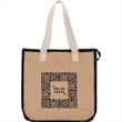 Jute Insulated Grocery Tote - Jute Insulated Grocery Tote