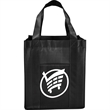 Deluxe Laminated Non-Woven Grocery Tote - Deluxe Laminated Non-Woven Grocery Tote