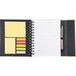 """6.5"""" x 7"""" Lock-it Spiral Notebook w/Pen - 6.5"""" x 7"""" Lock-it Spiral Notebook w/Pen"""
