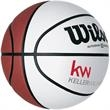 Wilson Autograph Basketball - Wilson® basketball with four white panels for autographs.