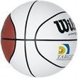 Wilson Autograph Mini Basketball - Wilson® mini-basketball with six white panels for autographs.