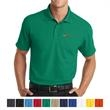 Port Authority Dry Zone Grid Polo - Port Authority grid polo made of 100% polyester with moisture wicking and odor control.