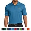 Port Authority Performance Fine Jacquard Polo - Port Authority fine jacquard polo made of 100% polyester with moisture wicking and a flat-knit collar.
