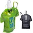 T-Shirt Shaped Collapsible Water Bottle - T-shirt shaped collapsible water bottle.