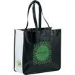 Large Laminated Non-Woven Shopper Tote - Large Laminated Non-Woven Shopper Tote