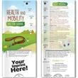 Pocket Slider™ - Health & Mobility - Tips for Seniors - Health & Mobility - Tips for Seniors Pocket Slider™, printed in full color on high quality card stock with a gloss coating