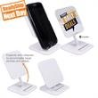 Qi Stand Wireless Charger - Qi Certified - Charge your Qi-enabled smartphone cable free on the adjustable Qi Stand!
