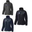 Columbia® Ladies' Benton Springs™ Full-Zip Fleece - Ladies' fleece jacket made of 100% polyester with elastic cuffs, adjustable drawcord at the bottom hem and pockets