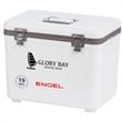 19 Qt. Medium Engel Cooler - 19 Qt. Medium Engel Cooler. Made Of Quality Injection Molded (PP Copolymer).  High-Grade Molded Polystyrene Foam Insulation.