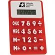 Flexible Calculator - Flexible, soft calculator with raised, easy-to-read numbers.
