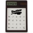 Transparent Calculator - Transparent solar-powered calculator in several fantastic colors.