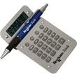 Wave Calculator - Full-function Wave calculator with an 8-digit LCD display, soft, raised rubber buttons, and a curved design.