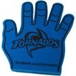"""Foam High Five Hand - 15 5/8"""" foam hand with a """"high five"""" design and available in thirteen different colors."""
