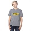 Threadfast Apparel Youth Triblend Short-Sleeve T-Shirt - Youth Polyester/Cotton/Rayon short sleeve t-shirt.