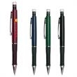 Mechanical Pencil w/ Black Gripper - Mechanical pencil with 0.7mm writing graphite, chrome accents and metal clip.