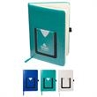Leeman™ Medical-Themed Journal Book with Cell Phone Pocket - Medical themed journal book.