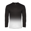 Badger Ombre Long Sleeve T-Shirt - Badger Ombre Long Sleeve Tee