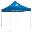 Standard 10' Tent Kit (Full-Color Imprint, 1 Location) - This popular tent strikes a perfect balance between cost effectiveness and portability.