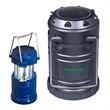 Mini Duo COB Lantern Wireless Speaker - ABS plastic camping lantern style flashlight and wireless speaker.