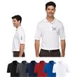 Core365® Men's Tall Origin Performance Pique Polo - Men's tall 100% polyester pique polo with moisture wicking, antimicrobial and UV protection properties