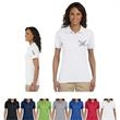 Jerzees® Ladies' 5.6 oz. SpotShield™ Jersey Polo - Ladies' cotton/poly sport shirt made with stain resistant fabric.