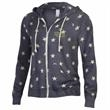 Alternative® Adrian Stars Hoodie - This classic zip-up hoodie for women is crafted from super soft Eco-Fleece in a flattering, slim silhouette.
