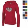 Champion Eco® Women's University Fleece Hoodie - Stay warm and stay in style with this BIC Graphic exclusive that sports a trendy slim fit.