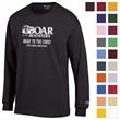 Champion® Jersey Long Sleeve Tee - This mid-weight tee is a great way to promote your brand as a champion.