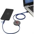 Gamma Wireless Charging Pad with 3-in-1 Cable - Gamma Wireless Charging Pad with 3-in-1 Cable