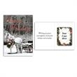 Greeting Card with Magnetic Photo Frame - Bi-fold greeting card with magnetic photo frame.