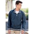 J. America Relay Fleece Quarter-Zip Sweatshirt - J America Relay Fleece Quarter-Zip Sweatshirt