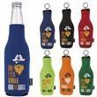 Koozie® Neoprene Zip-Up Bottle Kooler - eoprene Zip-Up Bottle Kooler