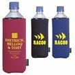 Basic Collapsible KOOZIE® Bottle Kooler - Basic Collapsible Bottle Kooler fits 16 oz. water bottle.