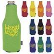 Zip-Up Bottle KOOZIE® Kooler - Zip-Up Bottle Kooler fits most 12 oz. long necks.