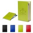Element Softbound Journal with Zipper Pocket - Softbound PU Journal with Zipper Pocket