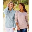 MV Sport Women's Space-Dyed Sweatshirt - MV Sport Women's Space-Dyed Sweatshirt