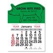 "Pig Shaped Peel-N-Stick® Calendar - Pig-shaped Peel-N-Stick® vinyl 12-month calendar in 4""H x 3""W or 5-3/4""H x 3""W in assorted colors."