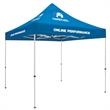 Standard 10' Tent Kit (Full-Color Imprint, 4 Locations) - This popular tent strikes a perfect balance between cost effectiveness and portability.