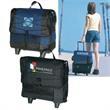 Ice® Original 54-Can Roller Cooler - Leak-proof polyester cooler.