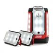 COLEMAN® 6D 63-PANEL LED LANTERN - LED lantern with 3 detachable panels and USB port for charging devices.