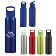 20 oz. Aluminum Sports Bottle - 20 oz. Aluminum sports bottle with screw on lid.