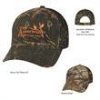 Realtree™ & Mossy Oak® Mesh Back Camouflage Cap - Hunter's Retreat Mesh Back Camouflage Cap. 60% Cotton/40% Polyester. 6 Panel, Medium Profile.