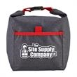 """Roll-It™ Lunch Bag - 13"""" x 13"""" x 6"""" Roll-It™ 240 Denier polyester lunch tote with buckle closure and front pocket."""
