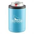 """2-In-1 Can Cooler Tumbler - 4 3/4"""" x 3"""" 2-in-1 interchangeable stainless steel can cooler and drinking tumbler. FDA approved, BPA free."""