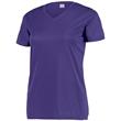 Augusta Sportswear Women's Attain Wicking Set-in Short Sl... - Augusta Sportswear Women's Attain Wicking Set-in Short Sl...